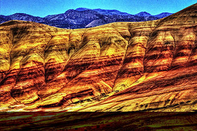 Photograph - John Day Fossil Beds National Monument No. 4 by Roger Passman