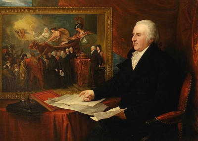 18th Century Painting - John Eardley Wilmot by Benjamin West