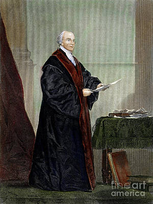 Photograph - John Jay (1745-1829) by Granger