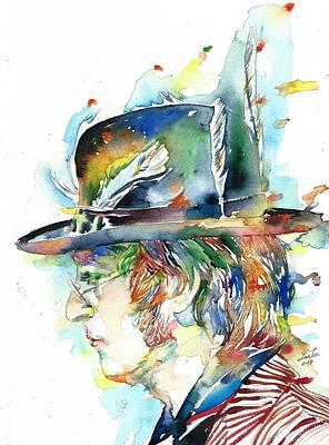 Painting - John Lennon  by Fabrizio Cassetta