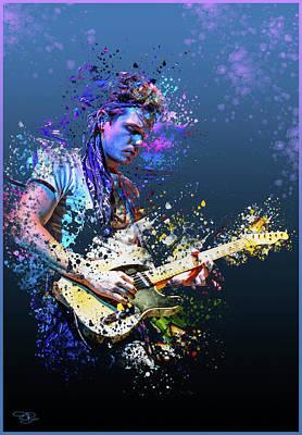 Digital Art - John Mayer by Hay Rouleaux