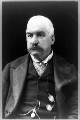 John Pierpont Morgan, Financierbanker Print by Everett