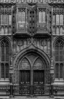 Photograph - John Rylands Library by Neil Alexander