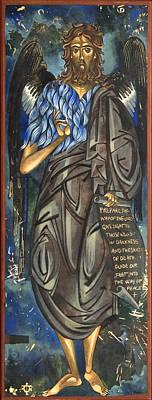 John The Baptist Art Print by Mary jane Miller