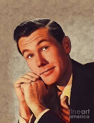 Actors Royalty-Free and Rights-Managed Images - Johnny Carson, Vintage Entertainer by John Springfield
