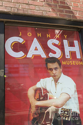 All Black On Trend - Johnny Cash museum Entrance by Patricia Hofmeester