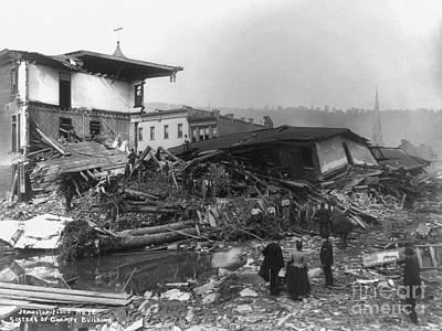Photograph - Johnstown Flood, 1889 by Granger