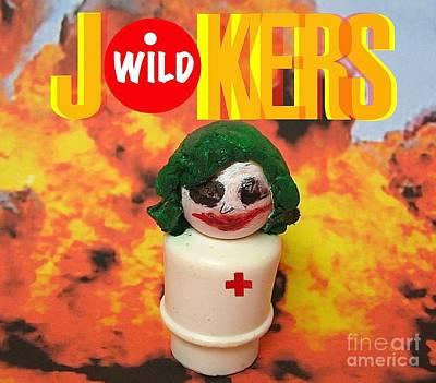 Heath Ledger Wall Art - Photograph - Jokers Wild by Ricky Sencion