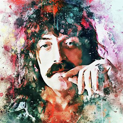 Digital Art - Jon Lord Deep Purple Portrait 3 by Yury Malkov