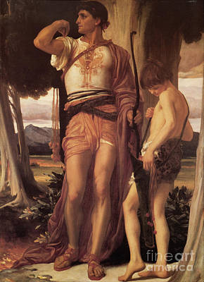 Male Painting - Jonathan's Token To David  by Celestial Images