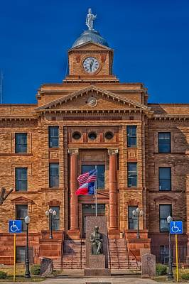 Jones County Courthouse Art Print by Mountain Dreams