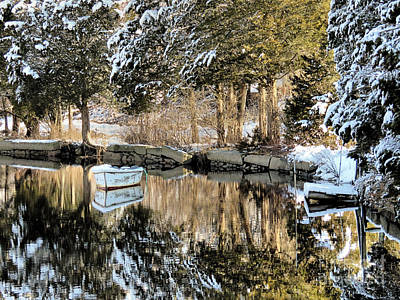 Photograph - Jones Riiver Kingston Massachusetts  by Janice Drew