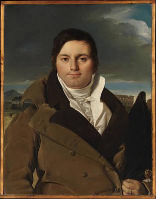 Joseph-antoine Moltedo Born 1775 Original by Jean Auguste Dominique Ingres