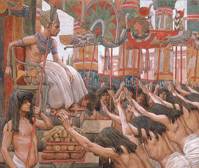 Painting - Joseph Dwelleth In Egypt by James Tissot