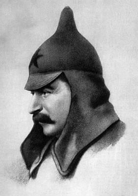 Stalin Photograph - Joseph Stalin 1879-1953 by Everett