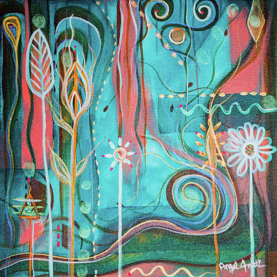 Wall Art - Painting - Joy by Angel Fritz