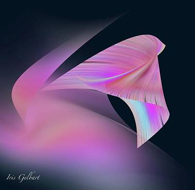 Digital Art - Joy by Iris Gelbart