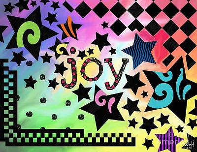 Joy Art Print by Jennifer Heath Henry