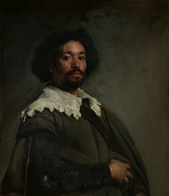 Painting - Juan De Pareja by Diego Velazquez