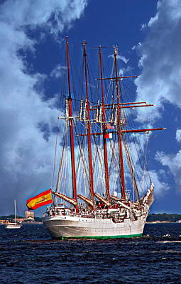 Photograph - Juan Sebastian De Elcano by Anthony Dezenzio