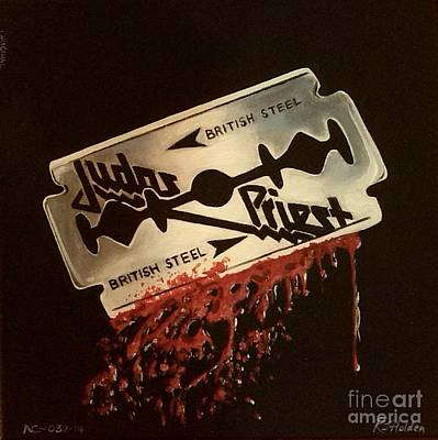 Judas Priest Original by Richard John Holden RA