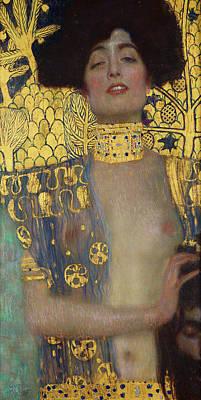 Symbolic Painting - Judith I by Gustav Klimt