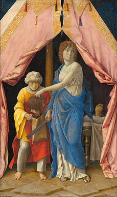 Beheading Painting - Judith With The Head Of Holofernes by Andrea Mantegna