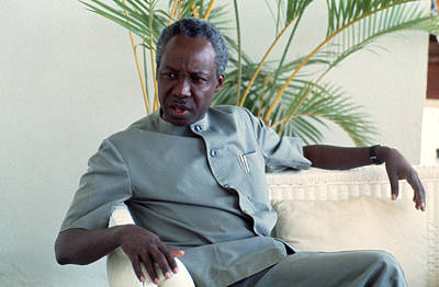 Julius Nyerere Art Print