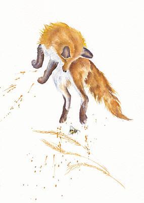 Painting - Jump by Debra Hall