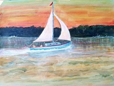 Painting - June Breeze by Robert Harrington