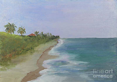 Painting - Juno Beach by Donna Walsh