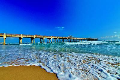 Photograph - Juno Beach Pier by Catie Canetti