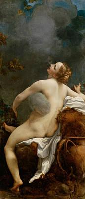 Painting - Jupiter And Io by Correggio