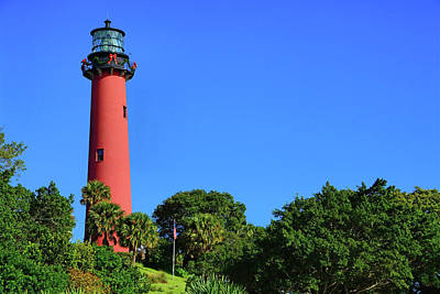 Photograph - Jupiter Inlet Lighthouse by Ben Prepelka