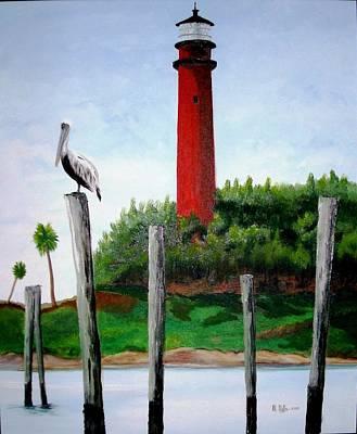 Jupiter Lighthouse Number Two Art Print