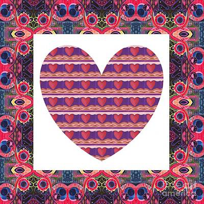 Just Love Art Print