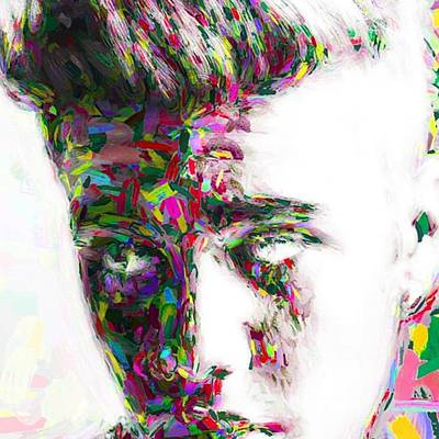 Famous Photograph - #justinbieber @justinbieber by David Haskett
