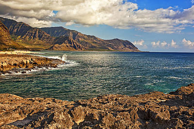 Beach Photograph - Kaena Point by Marcia Colelli