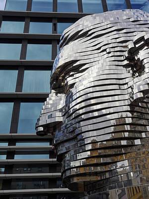Photograph - Kafka Head. Prague Spring 2017 by Jouko Lehto