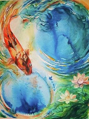 Painting - Kahu Koi by Wendy Wiese