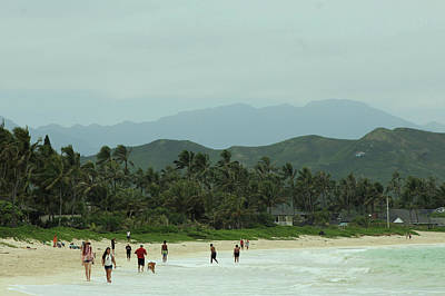 Photograph - Kailua Beach by Carolyn Ricks