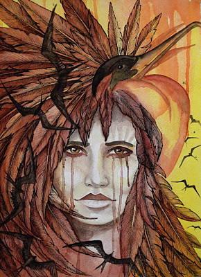 Iwa Painting - Ka'iwa by Kimberly Kirk