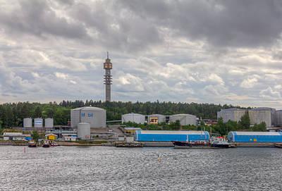 Photograph - Kaknas Tower Or Kaknastornet by Clare Bambers