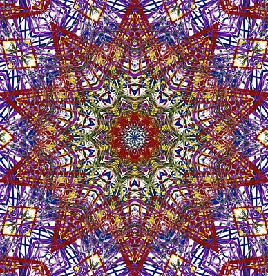 Kaleidoscope 414 Art Print