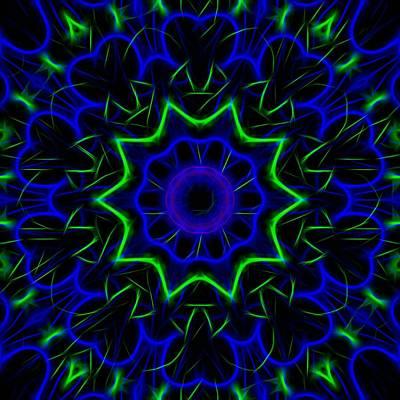Kaleidoscope 449 Art Print