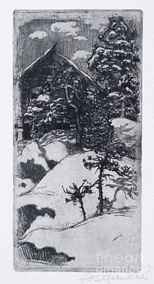 Kalela At Vinter Time Art Print by Celestial Images