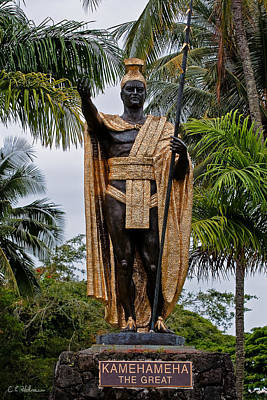 Photograph - Kamehameha The Great by Christopher Holmes