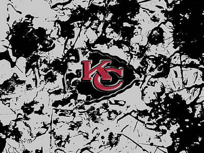 Patriot Mixed Media - Kansas City Chiefs by Brian Reaves