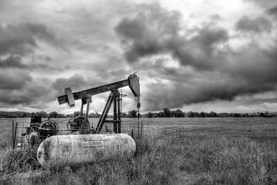 Photograph - Kansas Oil by JC Findley