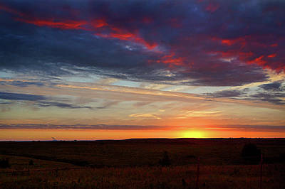 Photograph - Kansas Sunrise by Thomas Bomstad